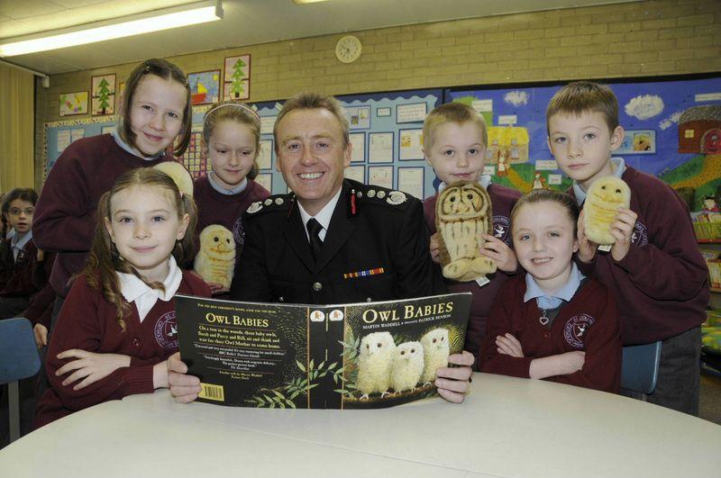 Police chief constable primary visit