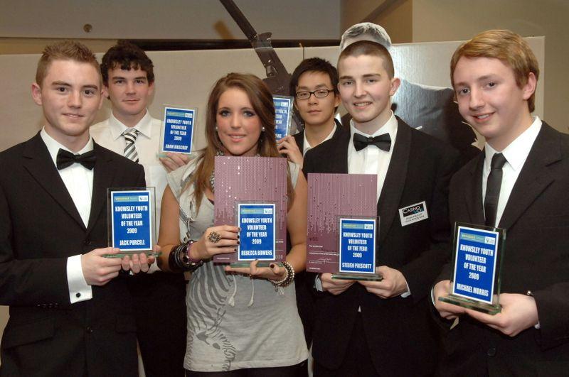 Volunteering Awards young volunteer winners photo