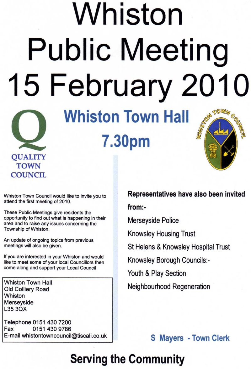 Whiston TC AGM001