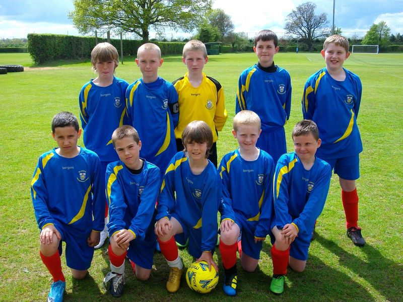 St Aidan's football team smaller