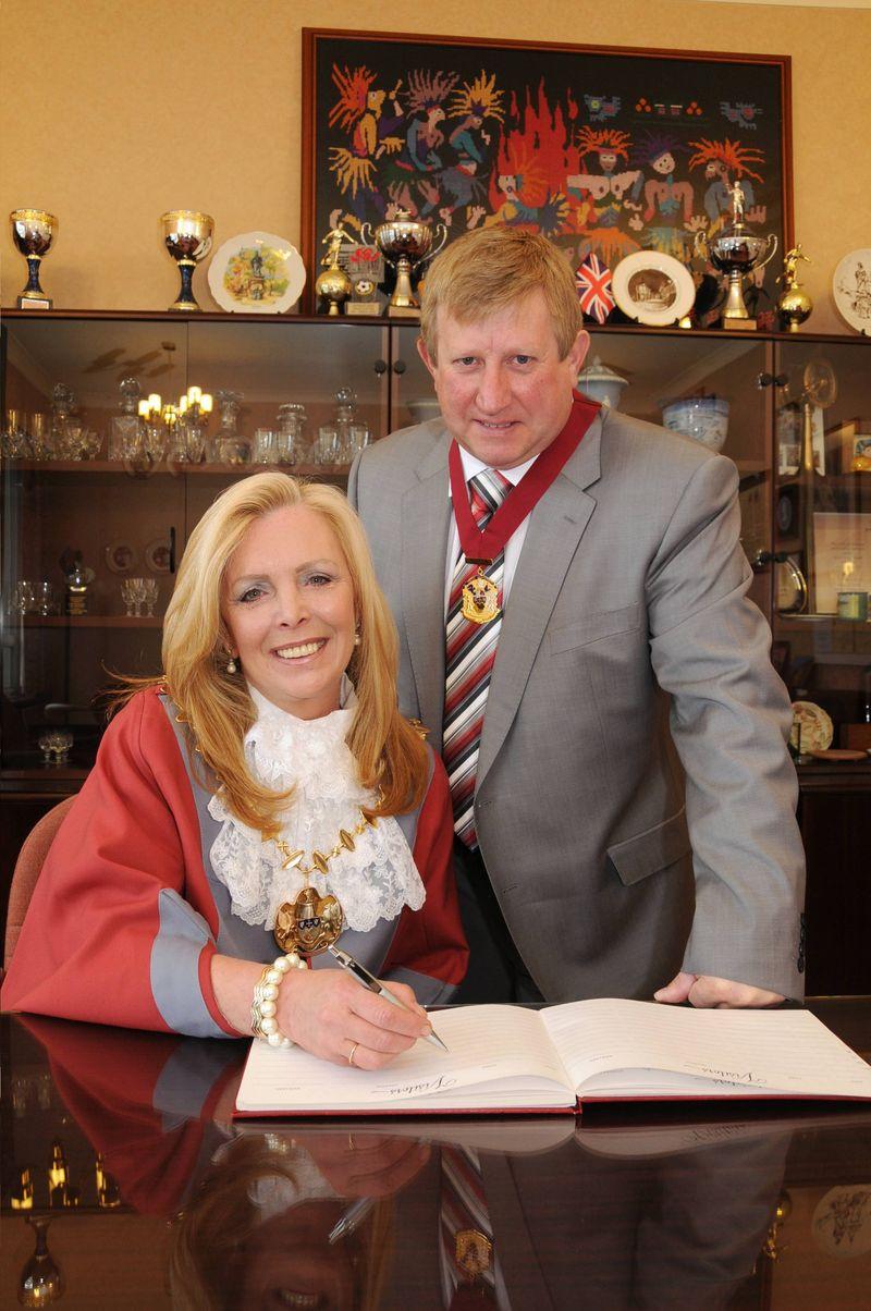 Mayor and Consort