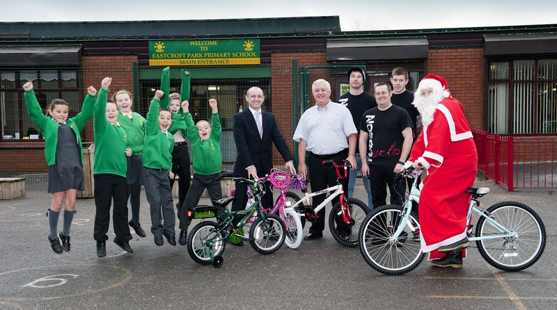 Bikes for Eastcroft pupils[1]