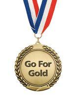 Go for gold symbol