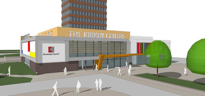 Kirkby public services centre front