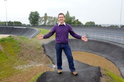 Chris Boardman officially opens KLCP and Veldrome & BMX track