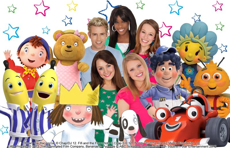 popular childrens tv show comes to knowsley knowsley