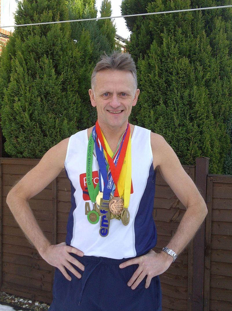 Andrew McCormick completes challenge