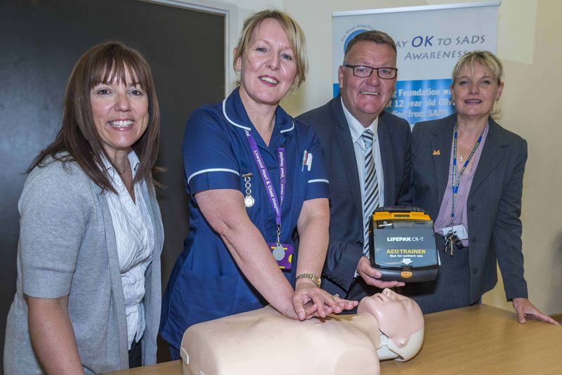 Defibrillators for Knowsley schools