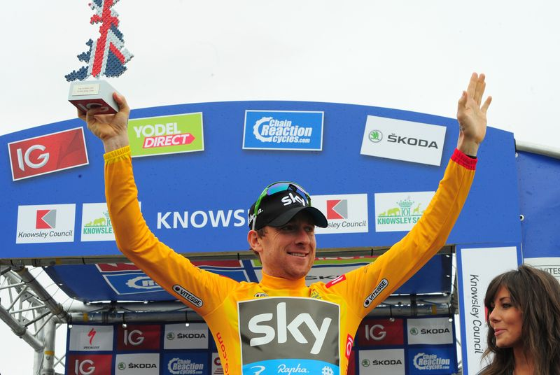 Sir Bradley Wiggins, IG Gold Jersey
