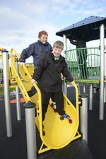 Bluebell Park play area opening (1mb)
