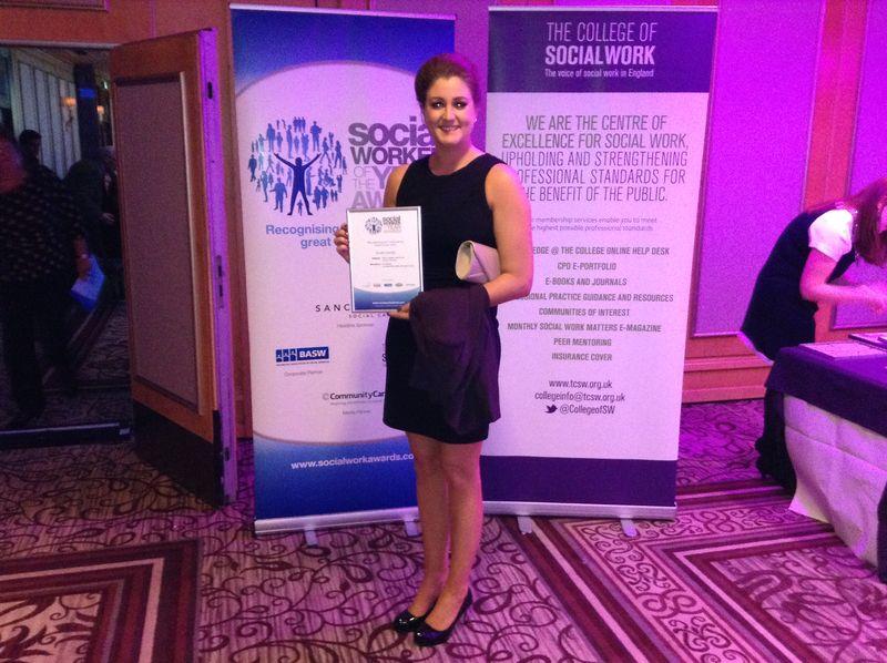 Vicki Steele picks up silver award