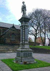 Prescot war memorial
