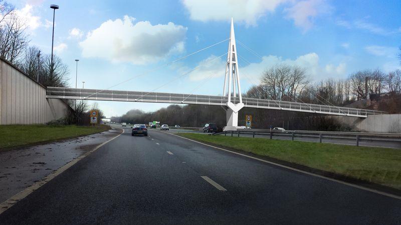New Footbridge (Greystone footbridge)