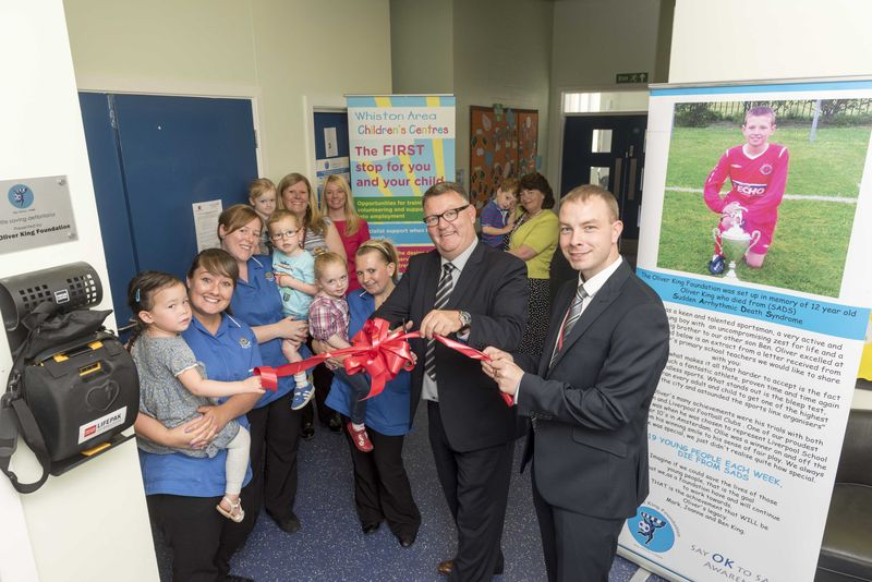 Defibs in Children's Centres