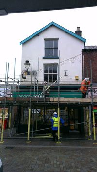Work starting 19 Eccleston Street