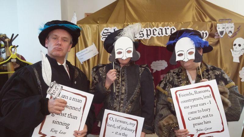 Shakespeare Selfies 2
