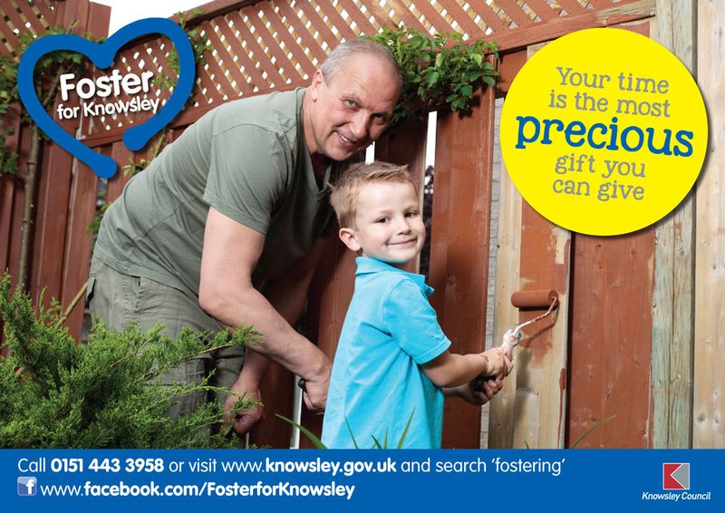 Fostering poster - fence