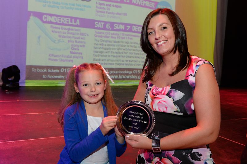 Adult Active Achiever of the Year - Sarah Smedley