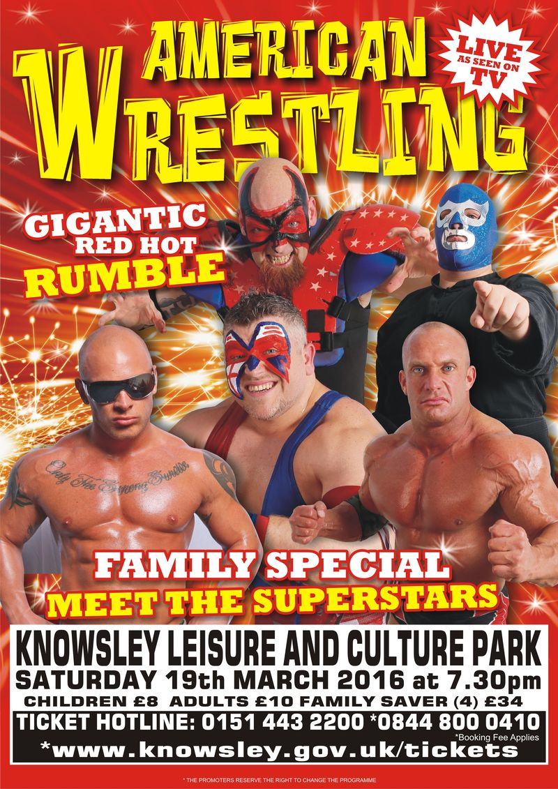 Knowsley Wrestling poster