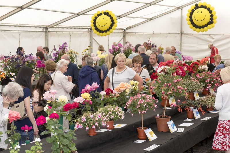Floral Marquee Knowsley